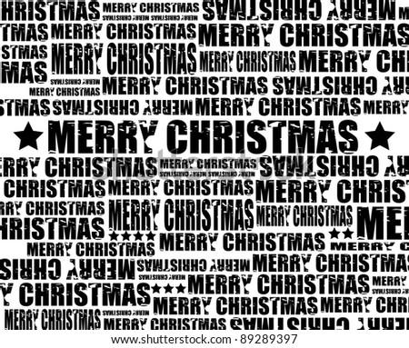 Merry Christmas, vector - stock vector