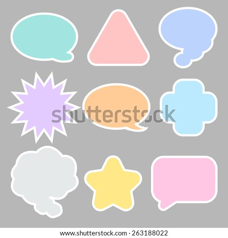 message icon great for any use. Vector EPS10.
