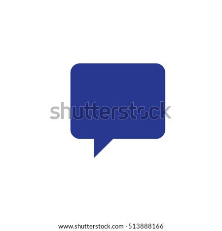 Message Icon Vector Illustration