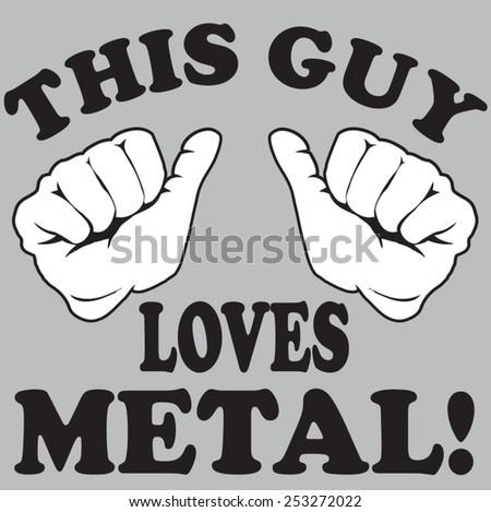 metal - stock vector