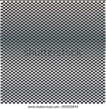 Metal background .Mesh Metal.speaker grill background.Mesh Fabric.metal plate with holes.Mesh Pattern.iron wire pattern with Mesh Texture. - stock vector