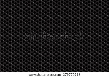 Metal grill seamless background. Vector illustration. EPS 10. - stock vector