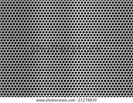 Metal net seamless texture background. - stock vector