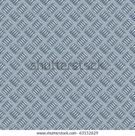 metal plate seamless Texture - stock vector