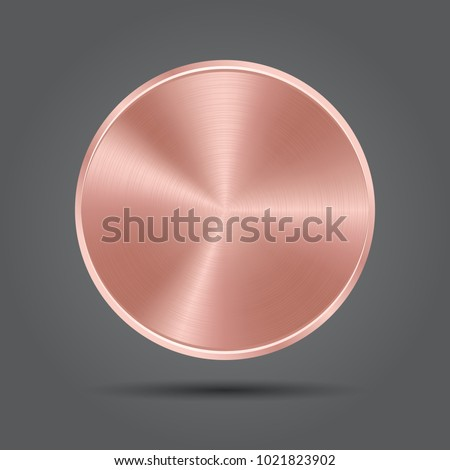 Metal rose plate icons pink badge stock vector 1021823902 shutterstock metal rose plate icons pink badge medal vector app background ccuart Gallery