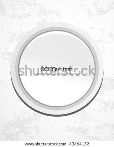 Metal technology vector background - stock vector