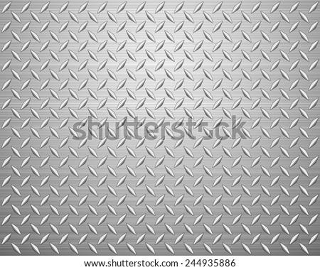 Metal texture background. Vector illustration. - stock vector