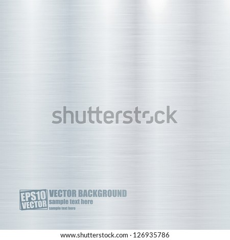 Metal texture vector background - stock vector