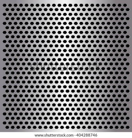 Metal texture with grid background. template design. Vector illustration
