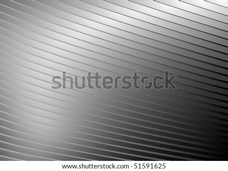 Metal vector  striped surface