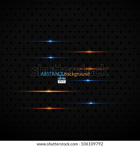 Metallic Background.Vector - stock vector