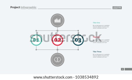 Methods business development slide template business stock vector methods of business development slide template business data graph diagram design accmission Gallery