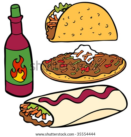 cartoon taco stock images  royalty free images   vectors mexican food clip art images free mexican food clip art free