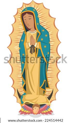 Virgen De Guadalupe Fashion Show