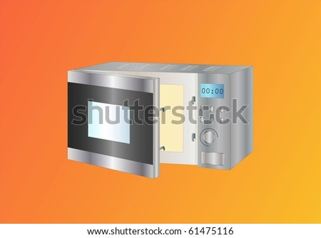 microwave ( background on separate layer )