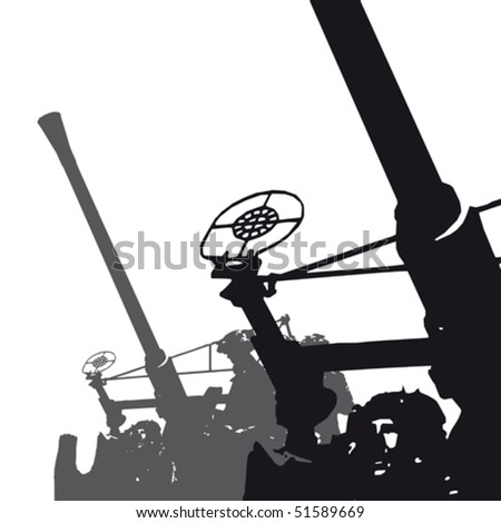 Military background - stock vector