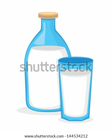 Milk - stock vector