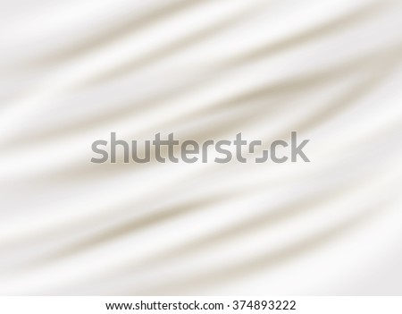 Milk , cream or cheese  background. Vector realistic illustration - stock vector