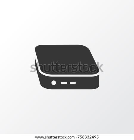 Mini Pc Icon Symbol Premium Quality Stock Vector Royalty Free