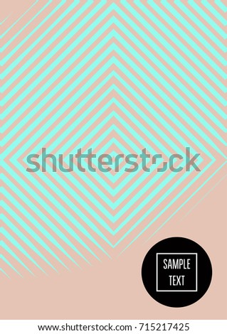 Minimal Covers Template Vector Stripes Elegant Female Pattern Futuristic Modern Noble Rich Poster Background
