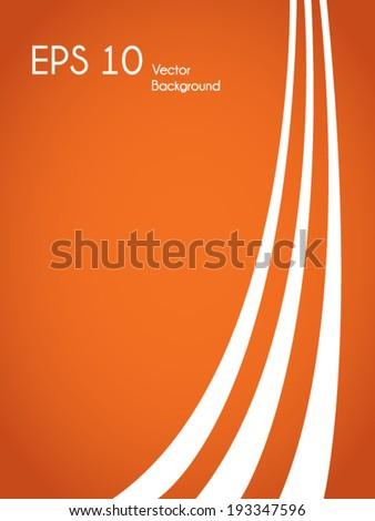 Minimalist vector background - stock vector
