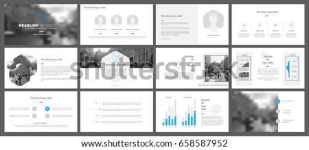 Minimalistic elements of infographics for modern design style on a white background. Presentation templates, flyer and leaflet, corporate report, marketing, advertising, annual report and banner.