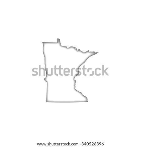 Minnesota - stock vector
