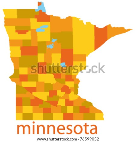 Minnesota Map Stock Images RoyaltyFree Images Vectors - Minnesota map usa