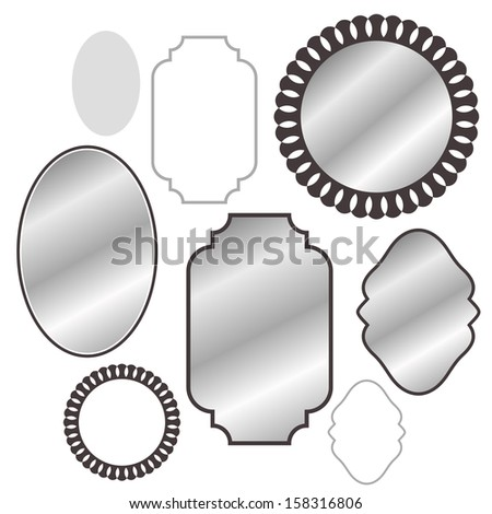 Mirror - stock vector