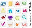 Miscellaneous vector web icons - stock vector