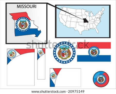 Missouri collection vector (see profile for more)