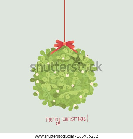 Mistletoe - stock vector
