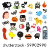 Mix of different vector images. vol.1 - stock vector