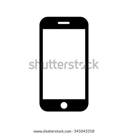 mobile icon vector illustration stock vector 345043358 shutterstock rh shutterstock com mobile vectra #2 sds mobile vector no 2