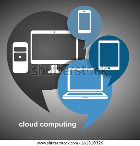 Mobile Internet and Cloud Computing Concept