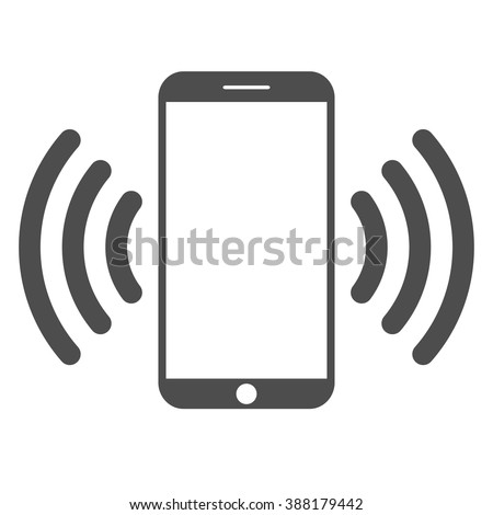 Mobile phone.  Mobile connection - stock vector