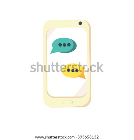 Mobile phone. Mobile phone flat. Mobile phone vector. Mobile phone icon. Mobile phone web. Mobile phone art. Mobile phone new. Mobile phone icon art. Mobile phone icon web. Mobile phone icon shape - stock vector