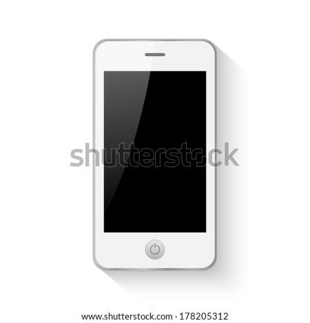 Mobile smartphone vector illustration - stock vector