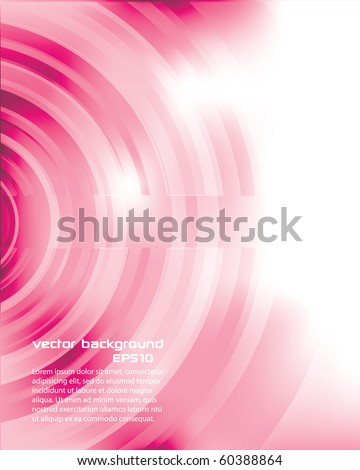 Modern Abstract Pink Background - stock vector
