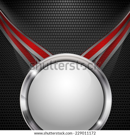 modern abstract vector background with copy space. Eps10