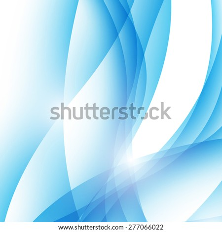 Modern abstract wave border ray line background. Vector illustration. Clip-art - stock vector
