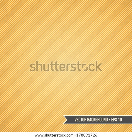 Modern background with angled stripes pattern and wall texture - stock vector