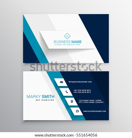Business Card Template Stock Images RoyaltyFree Images Vectors - Business card designs templates