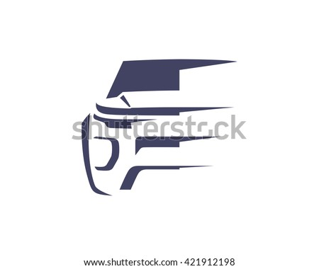 Modern Car Logo Symbol Suv Front Stock Vector Shutterstock