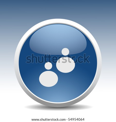 modern chatting button
