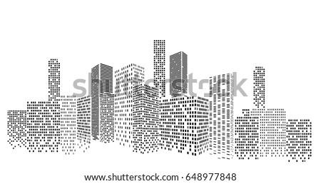 modern cityscape vector illustration city buildings stock photo rh shutterstock com cityscape vector png cityscape vector