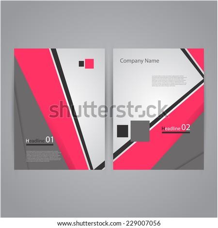 Modern Creative Brochure Design - stock vector