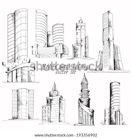 Modern 3d urban building with architectural elements isometric isolated vector illustration. - stock vector