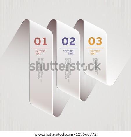 Modern design. - stock vector