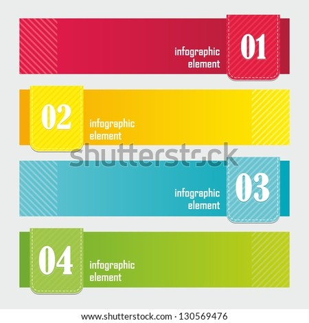 Modern Design Banner template. Website header. - stock vector